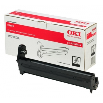 Unitate Cilindru Oki 43449016 Black 20000 Pagini for C8600N, C8800N