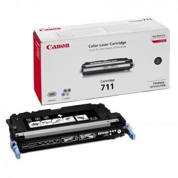 Cartus Toner Canon CRG-711BK Black 6000 Pagini for LBP 5300, LBP 5360, MF 9130, MF 9170, MF 9220CDN, MF 9280CDN, MF 8450 CR1660B002AA