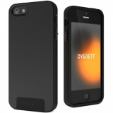 Husa Cygnett Black SecondSkin Silicone pentru iPhone 5 Black CY0852CPSEC