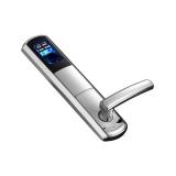 Incuietoare biometrica DLA-E7F4-FP cu amprenta, cod sau cheie, Capacitate 120 amprente, maner nereversibil, senzor optic de inalta rezolutie (500DPI); standalone