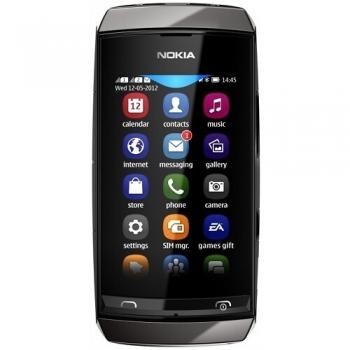 Telefon Mobil Nokia Asha 306 Dark Grey NOK306DG