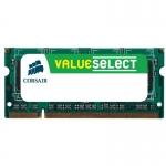 Memorie RAM Laptop SO-DIMM Corsair 8GB DDR3 1600MHz CL11 Value Select CMSO8GX3M1A1600C11