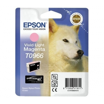 Cartus Cerneala Epson T0966 Vivid Light Magenta 11.4ml for Stylus Photo R2880 C13T09664010