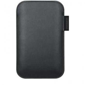 Husa protectie Samsung EF-C968LBECSTD Leather Pouch Black compatibila i9100 Galaxy S II, i9003 Galaxy SL, i9001 Galaxy S Plus