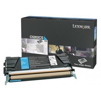 Cartus Toner Lexmark C5202CS Cyan 1500 pagini for C530DN