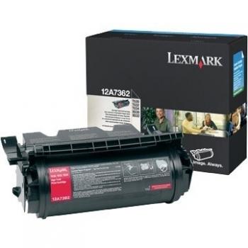Cartus Toner Lexmark 12A7362 Black 21000 pagini for Optra T630, X630, T632, T634, X632