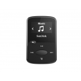 MP3 Player Sandisk CLip Jam Black 8GB microSDHC Radio FM SDMX26-008G-G46K