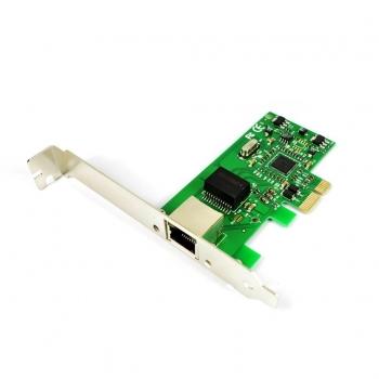 i-tec PCI-E Gigabit Ethernet Card 1000/100/10MBps Regular and Low Profile