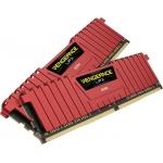 Memorie RAM Corsair Vengeance LPX Red KIT 2x8GB DDR4 2400MHz CL14 CMK16GX4M2A2400C14R