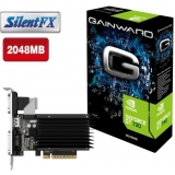 Placa Video Gainward nVidia GeForce GT 730 SilentFX 2GB GDDR3 64 bit PCI-E x16 2.0 VGA DVI HDMI 426018336-3224