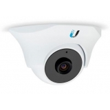 UniFi UVC-Dome Video IP Camera,IR LED,H.264,720p HD,30 FPS,Mic,PoE, Indoor