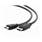 Gembird cable DISPLAYPORT (M) -> HDMI (M) 1.8m