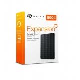 Hard disc extern Seagate Expansion, 2.5'', 500GB, USB 3.0, negru