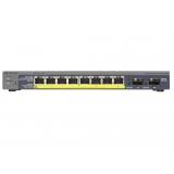Netgear Prosafe 8-port POE Gigabit Smart Switch + 2 SFP