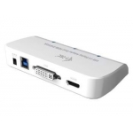 Adaptor i-tec USB 3.0 Dual Display 1x HDMI 1x DVI + adaptor 1x VGA Full HD