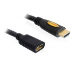 Delock Cable High Speed HDMI with Ethernet extension male / female 1 m