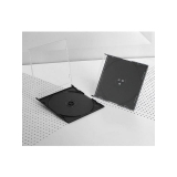 Gembird Slim case CD black inside 200 pieces
