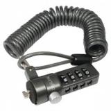 LOGILINK - Cablu anti-furt cu cifru pentru laptop, negru