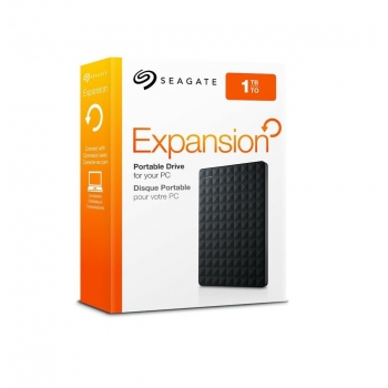 "HDD Extern Seagate Expansion 1TB 2.5"" USB 3.0 Negru STEA1000400"