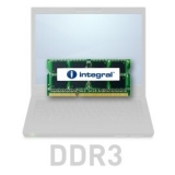 Memorie RAM Laptop SO-DIMM Integral 2GB DDR3 1066MHz CL7 IN3V2GNYBGX