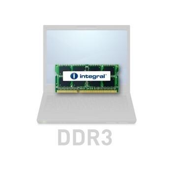 Memorie RAM Laptop SO-DIMM Integral 2GB DDR3 1066MHz CL7 IN3V2GNYBGX