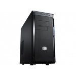 Carcasa Middle Tower Cooler Master N300 Ventilatoare 2x 120mm 2x USB 2.0 1x USB 3.0 2x jack 3.5mm black NSE-300-KKN1