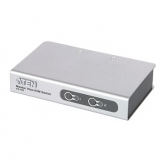 ATEN CS72E 2-Port PS/2 KVM Switch, 2x Cables (1.2m, 50cm console) Non-powered
