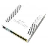 MikroTik RB260GSP SwitchOS 5xGig LAN, 1xSFP,Soho Switch, PoE output on ports 2-5