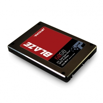 Patriot SSD Blaze 60GB SATA III 6Gb/s , Speed 530/430MBs, 85K IOPS