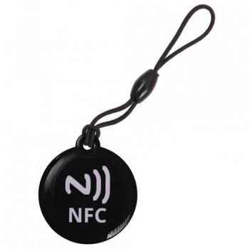 NFC Tag PENDANT black