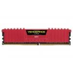 Memorie RAM Corsair Vengeance LPX Red 8GB DDR4 2400MHz CL14 CMK8GX4M1A2400C14R