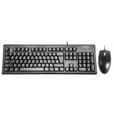 Set tastatura KRS-8372 USB, SUA, neagra