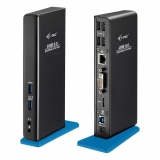 i-tec USB 3.0 Dual Docking Station HDMI DVI Full HD + USB Charging Port