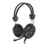 Casti A4-Tech HS-30 cu microfon si control de volum black A4TSLU29942
