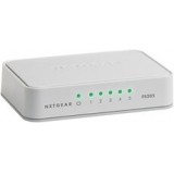 Netgear FS205 5 Port Fast Ethernet Unmanaged Switch