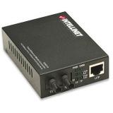 Convertor media Intellinet 10/100Base-TX RJ45 / 100Base-FX (MM ST) 2km 1310nm