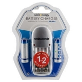 Whitenergy incarcator baterii 2xAA/AAA + 2xAA/R6 2800mAh - blister