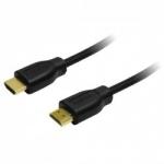 LOGILINK - Cablu HDMI- HDMI,1.4, aurit, lung de 15 m