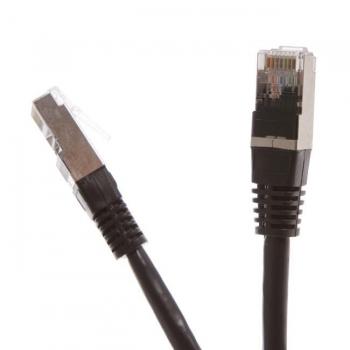 Digitalbox START.LAN patchcord RJ45 cat.5e FTP 10m negru