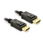 Delock kabel Displayport M/M 2m gold