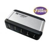 Sandberg Hub USB AluGear (7 porturi)