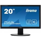 "Monitor LED IIyama 19.5"" ProLite E2083HSD-B1 1600x900 VGA DVI"