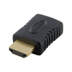 Adaptor 4World HDMI [M] > HDMI [F], negru
