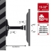 Suport perete 4World pt LCD 15-32'' incl/rotire brat 23cm inc.30kg alb
