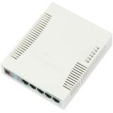 MikroTik RB260GS SwitchOS 5xGig LAN, 1xSFP,web browser Soho Switch, carcasa plas