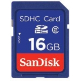 Card Memorie SDHC SanDisk 16GB Clasa de viteza 4 SDSDB-016G-B35