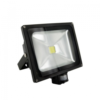 Whitenergy lampa reflectoare LED 30W | 6000K | 3000lm | IP66 | senzor miscare