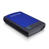Transcend HDD extern 25H3B 2.5'' 1TB USB3, sistem cu tripla protectie la soc