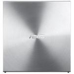 Asus External Slim DRW 08U5S, 24x, Silver