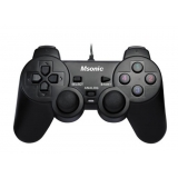 Gamepad MSONIC MN3329BK 12 butoane vibration PC USB